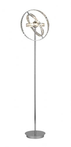 Eternity 6-light Polished Chrome Floor Lamp (135798) (Class 2 Double Insulated)